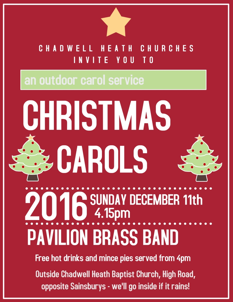Christmas Carol flyer website