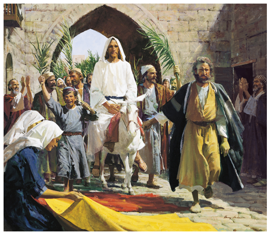Palm Sunday Jesus