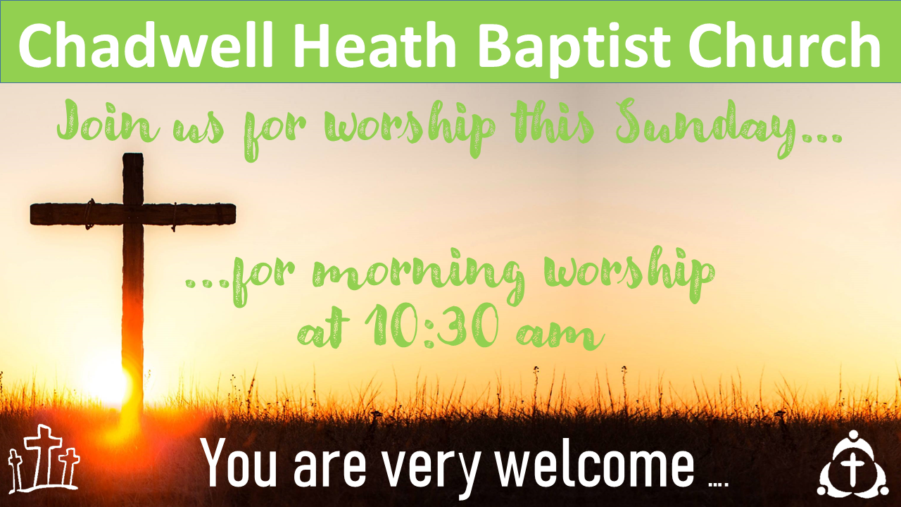 This Sunday worship with us