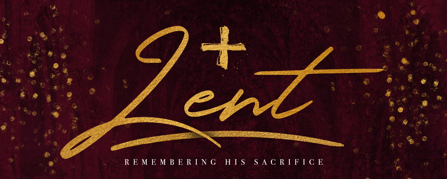 Lent homescreen banner